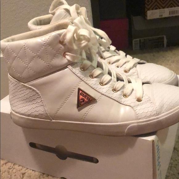 White Guess ShoesAll Sneakers Poshmark Fashion 9WDH2YEI